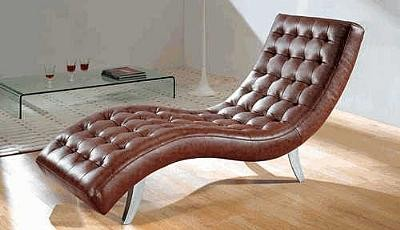 7900 Brown Leather Relax Chair