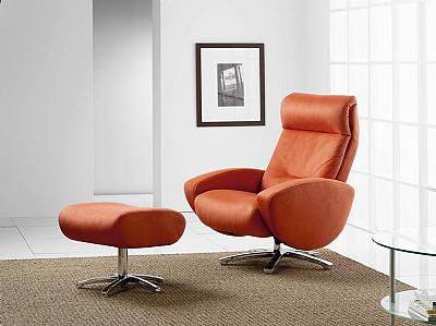 ROOKIE Reclining Chair W/ Ottoman, ROM, Belgium