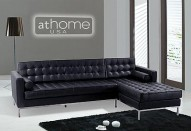 F14 Sectional Sofa - BLACK