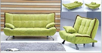 AE004 Light Green Sofa Sleeper